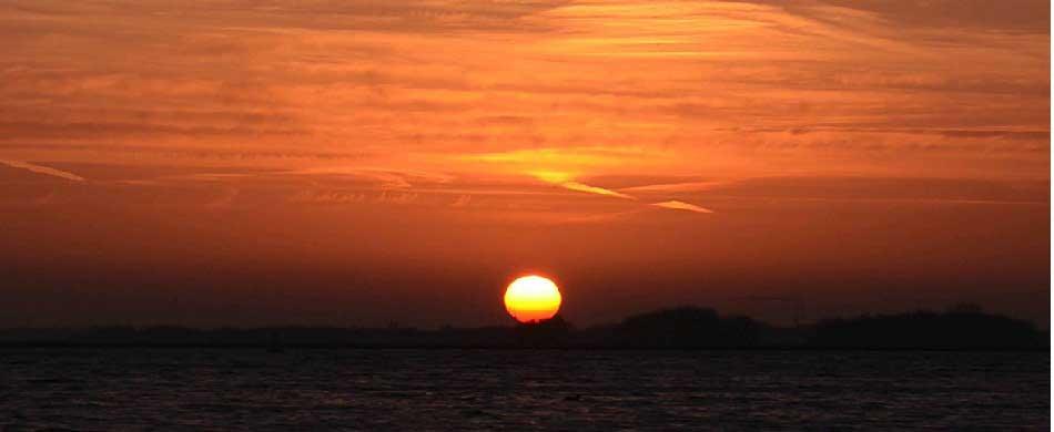 Kanyakumari Sun Set